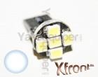 Ampoule T10 LED Xfront<sup>5</sup> SMD- W5W - Blanc Xenon