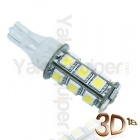 Ampoule T15 LED 3D<sup>18</sup> - Culot W16W - Blanc Pur