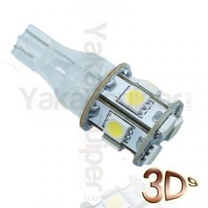 Ampoule T15 LED 3D<sup>9</sup> - Culot W16W - Blanc Pur