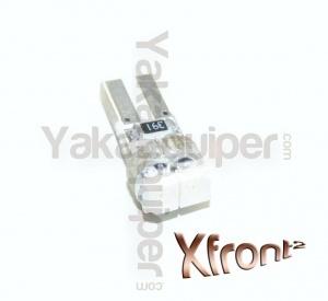 Ampoule T5 LED 2 SMD - Culot W1.2W - Rouge