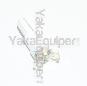 Ampoule T5 3 LED Flux - Culot W1.2W - Blanc Xenon