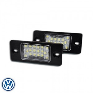 Pack LED plaque immatriculation AUDI TT 2007