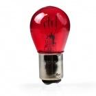 1 ampoule halogene PR21/5W rouge BAW15d